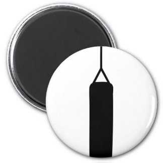 boxing punching ball bag 2 inch round magnet