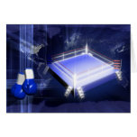 Boxing Ring Gloves Cards