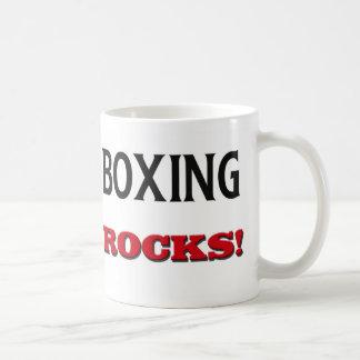 Boxing Rocks Classic White Coffee Mug