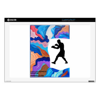 """Boxing Rooster 17"""" Laptop Skins"""