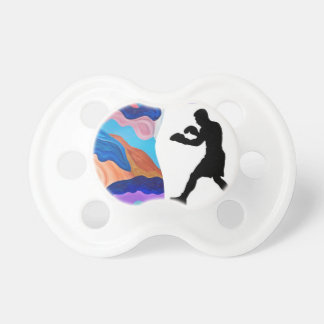 Boxing Rooster Pacifier