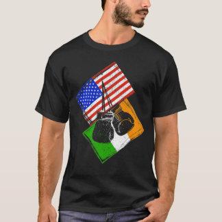 Boxing Shirt USA versus Ireland Design