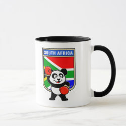 Combo Mug with South Africa Boxing Panda design