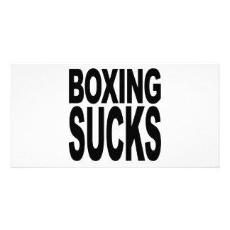 Boxing Sucks Photo Card