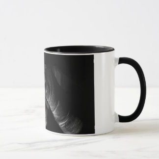 Boxing Tape Wrap Black 11 oz Ringer Mug
