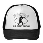 Boxing the sweet science mesh hats