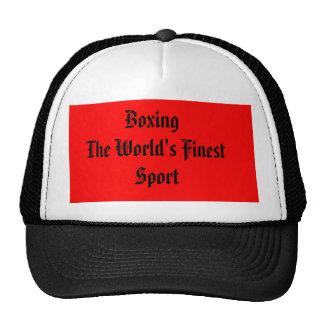 Boxing the World's Finest Sport Trucker Hat