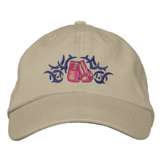 Boxing Tribal Embroidered Baseball Hat