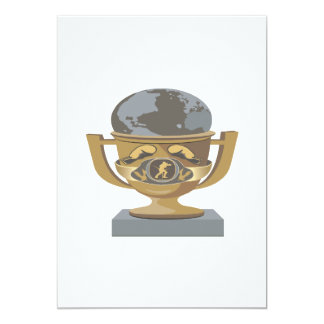 Boxing Trophy Card