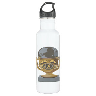 Boxing Trophy Stainless Steel Water Bottle