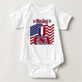 Boxing USA Baby Bodysuit