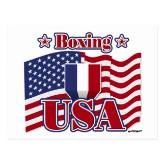 Boxing USA Postcards
