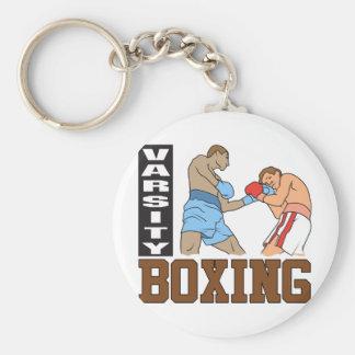 Boxing Varsity Keychain