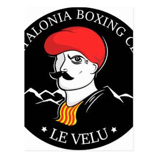 boxingclub postcard
