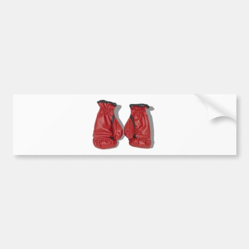 BoxingGloves060910Shadow Pegatina De Parachoque