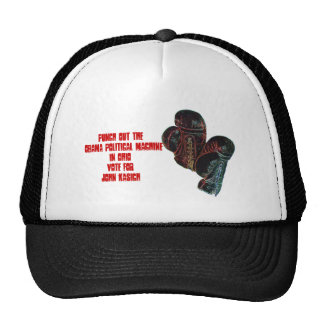 boxinggloves, Punch Out The Obama Political Mac... Trucker Hat