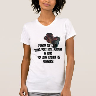 boxinggloves, Punch Out TheObama Political Mach... Tee Shirt