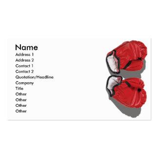 BoxingGlovesReadyWearCard, Name, Address 1, Add... Business Card