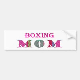 BoxingMom Car Bumper Sticker