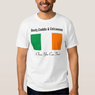 Boxty, Coddle y Colcannon Remera