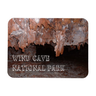 Boxwork, Cave Formations, Wind Cave, South Dakota Magnet