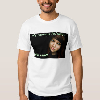 ¡Boxxy! usted ve Playeras