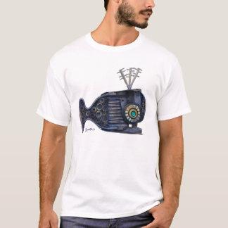 Boxy Blue Whale Clothing T-Shirt