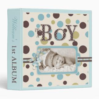 Boy 15 Album 3 Ring Binder