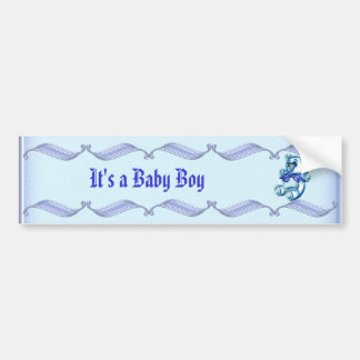 Boy #1 bumper sticker