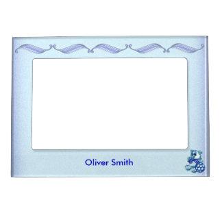 Boy #1 picture frame magnet