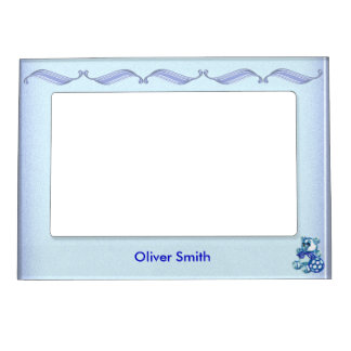 Boy #1 magnetic picture frame