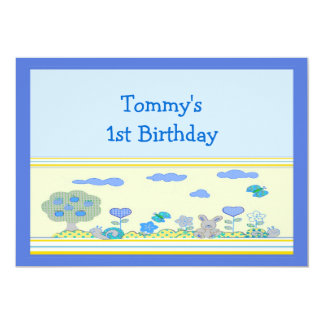 Boy 1st Birthday Card