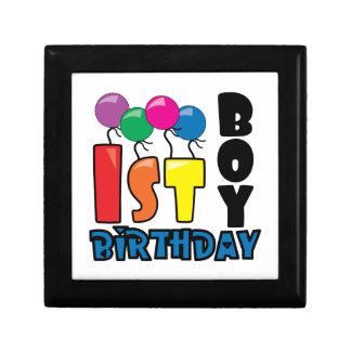 Boy 1st Birthday Jewelry Boxes