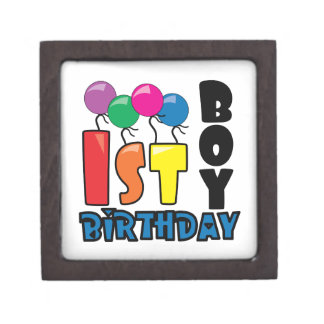 Boy 1st Birthday Premium Gift Boxes