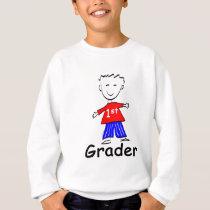 Boy 1st Grade Sweatshirt