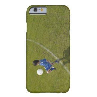 Boy (8-10) footballer practicing skills, barely there iPhone 6 case
