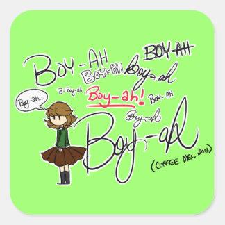 BOY-AH STICKER