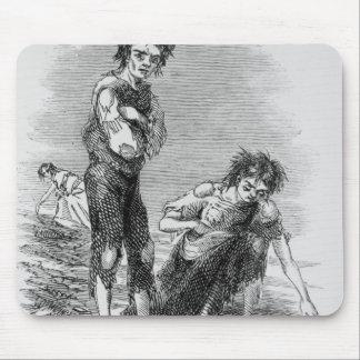Boy and Girl at Cahera Mouse Pad
