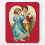 Boy and Girl Dancing Mouse Mats