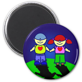 BOY and GIRL Magnet