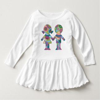 Boy and girl on dress
