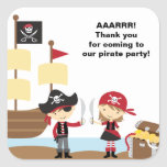 Boy and Girl Pirate Stickers