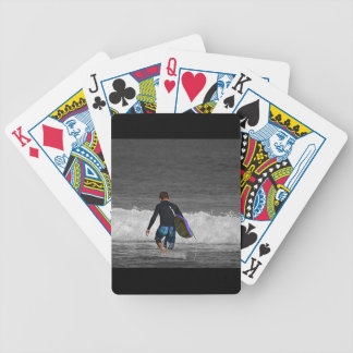 BOY AND HIS BOOGIE BOARD POKER CARDS