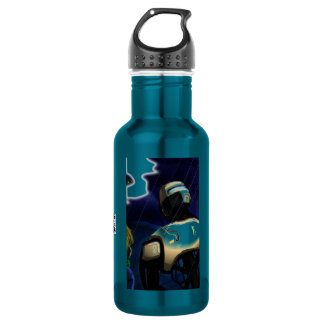 Boy and his Bot Artwork Stainless Steel Water Bottle