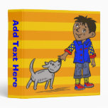 Boy And His Dog 3 Ring Binders