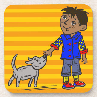 Boy And His Dog Coaster