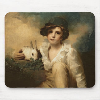 Boy and Rabbit, c.1814 Mouse Pad