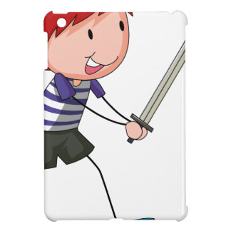 Boy and sword cover for the iPad mini