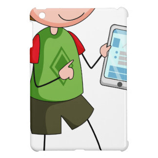 Boy and tablet iPad mini cases