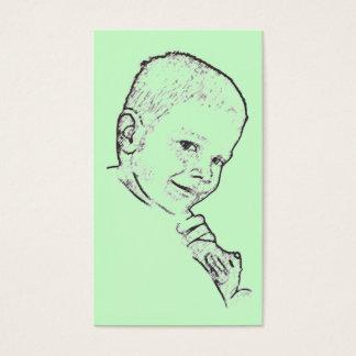 Boy and Teddy (Mark 10:14) Tract Card /